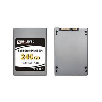 HI-LEVEL 240GB SSD Disk SSD30ULT/240G + Aparat