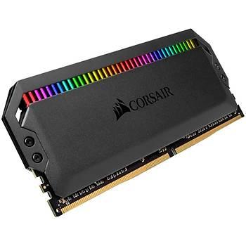 Corsair CMT64GX4M4Z3600C18 64GB (4X16GB) DDR4 3600MHz CL18 Dominator Platinum RGB Soðutuculu Siyah DIMM Bellek Ram