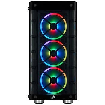 CORSAIR iCUE 465X RGB Tempered Glass Siyah Mid Tower Kasa