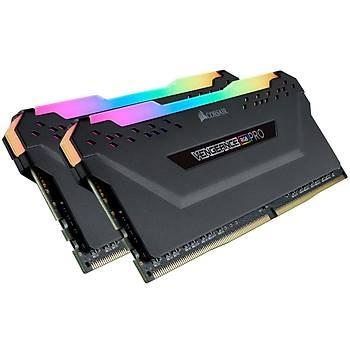 CORSAIR CMW16GX4M2Z3600C18 16GB (2x8GB) DDR4 3600 MHz C18 VENGEANCE RGB BLACK DIMM BELLEK