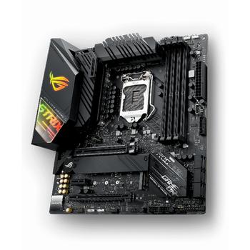 ASUS ROG STRIX Z490-G GAMING (WI-FI) Intel Z490 LGA1200 DDR4 4600 DP HDMI Çift M2 USB3.2 AX WiFi + BT AURA RGB 2.5Gbit LAN mATX 128GB?a kadar ram desteði