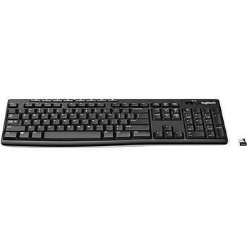 Logitech K270 Kablosuz Klavye-Siyah 920-003761 Gaming Klavye