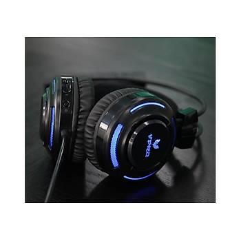 VPRO VH200 Kablolu Siyah Kulak Üstü Gaming Kulaklýk