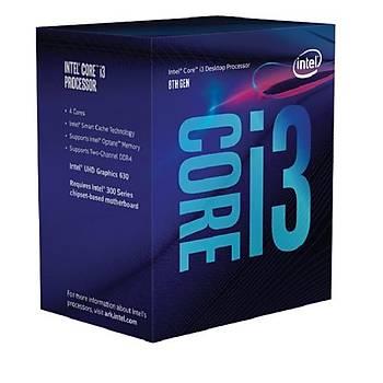 Intel Core i3-8100 3.5 GHz LGA1151 6 MB Cache 65 W Ýþlemci