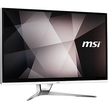MSI AIO PRO 22XT AM-003XTR 21.5 FHD (1920X1080) MULTI-TOUCH RYZEN 3 3200G 8GB DDR4 256GB SSD DOS BEYAZ