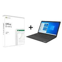 Microsoft Office 2019 + EVOO Ultra Ýnce Siyah  15.6