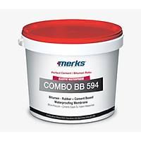 BITU-RUB Combo BB 594 - Bitum Kauçuk + Çimento Esaslý Çift Bileþenli Su Yalýtým Malzemesi - 32 Kg