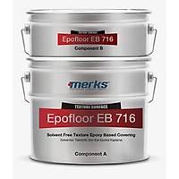 Epofloor EB 716 - Solventsiz Tekstürlü (Portakal Kabuðu Desenli ) Epoksi Kaplama - 11Kg+1,5Kg