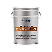 POLYSEAL BITU PB531 - Tek Bileþenli Bitüm Poliüretan Esaslý Su Yalýtým Malzemesi - 20 Kg
