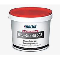 BITU-RUB BB 593 - Bitum Kauçuk Esaslý Tek Bileþenli Süper Elastik Su Yalýtým Malzemesi - 20 Kg