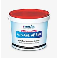 ACRY-SEAL AB 580 - Akrilik Esaslý Elastik UV Dayanýmlý Su Yalýtým Malzemesi - Beyaz - 20 Kg