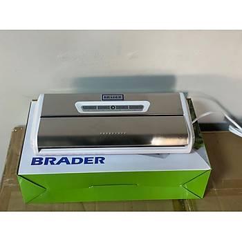 Brader Ev Tipi Vakum Mini Vakum Makinesi Krom Kaplama