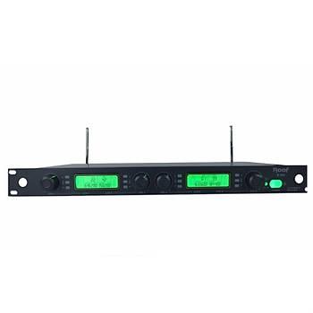 Roof R-404 - 4 Kanal Uhf Kablosuz Mikrofon Alýcýsý