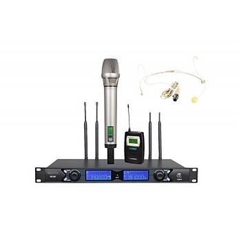 Kraftig U3302S Kablosuz Mikrofon Seti