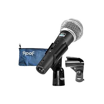 Roof R101 Kablolu Dinamik EL Mikrofonu