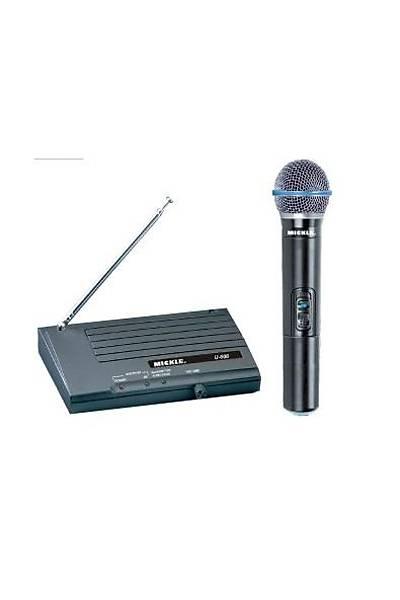 Mickle HDW-608 Telsiz Mikrofon