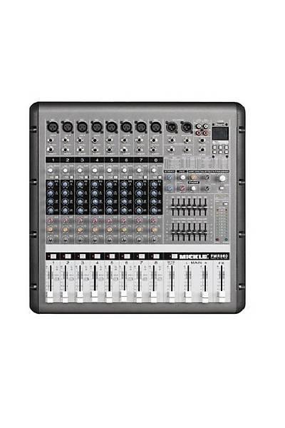 Mýckle Pmr860 Usb - 8 Kanal 2X650 Watt Power Mikser