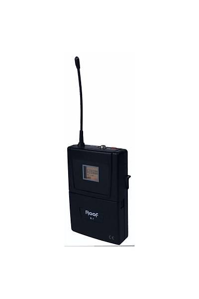 Roof R-7 Verici Kablosuz Uhf Yaka Mikrofon