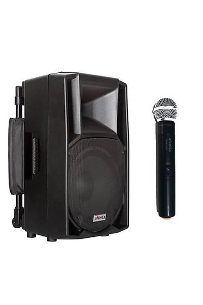 Aneka 212 WR-200E Seyyar Portatif Ses Sistemi 200Watt/ El Mikrofon