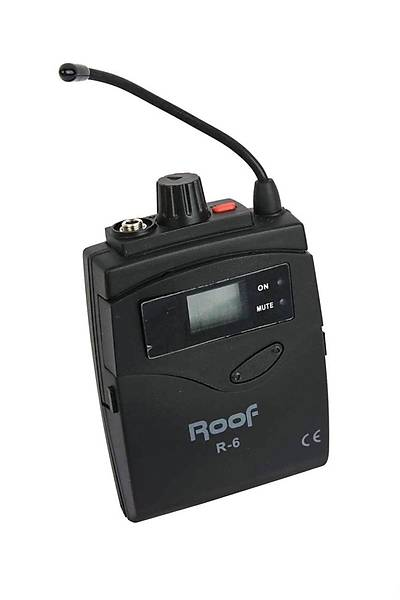 Roof R-6 Kablosuz Verici Yaka Mikrofonu