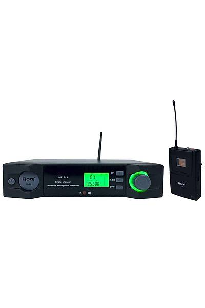 Roof R-201 1 Yaka UHF Telsiz Mikrofon
