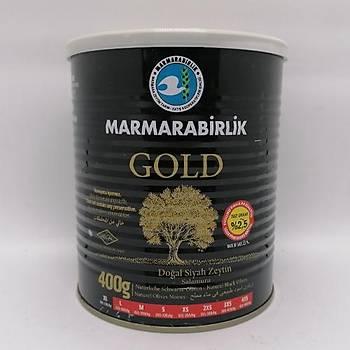 Marmarabirlik Gold Az Tuzlu Siyah Zeytin 400 Gr