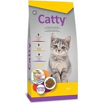 Catty Kitten Tavuklu Yavru Kedi Mamasý 15 KG