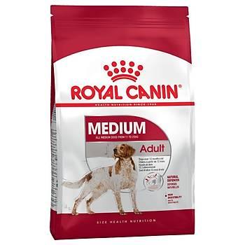 Royal Canin Medium Adult Orta Irk Yetiþkin Köpek Mamasý 15 KG