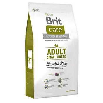 Brit Care Adult Small Kuzu Etli Küçük Irk Yetiþkin Köpek Mamasý 7.5 KG