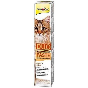 GimCat Duo Paste Peynirli Malt Kedi Macunu Anti Hairball 50 gr