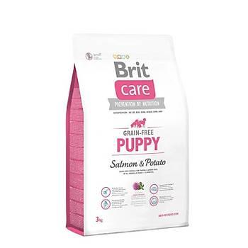 Brit Care Puppy Somonlu Tahýlsýz Yavru Köpek Mamasý 12 KG
