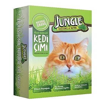 Jungle Kedi Çimi Kutulu Fileli