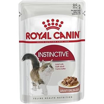 Royal Canin Instinctive Jelly Pouch Yetiþkin Kedi Mamasý 85 Gr