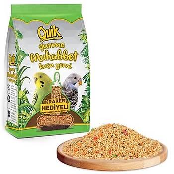 Quik Gurme Muhabbet Yemi 500 gr (Kraker Hediyeli)