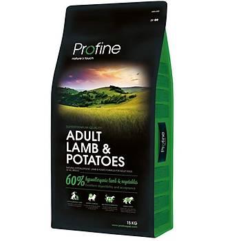 Profine Adult-Kuzulu & Potatoes 15 KG