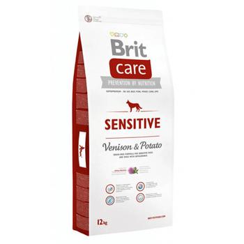 Brit Care Sensitive Tahýlsýz Geyik Etli Hipoalerjenik Yetiþkin Köpek Mamasý 12 KG