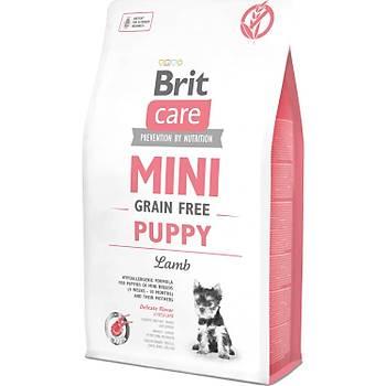Brit Care Mini Puppy Kuzu Etli Tahýlsýz Küçük Irk Yavru Köpek Mamasý 2 KG