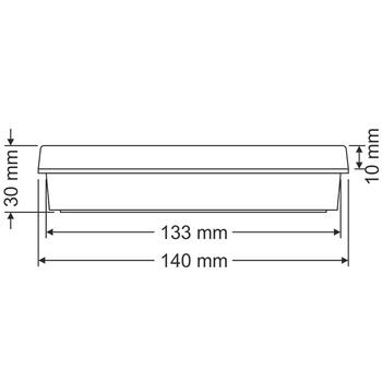 Sealite AS-3010 Acil Çýkýþ Yönlendirme Armatürü Þebekeden Yanan 20xF LED