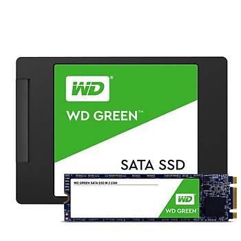 WD WDS120G2G0B 120GB Green m.2 Sata 3.0 540-430MB/s 7MM Flash SSD