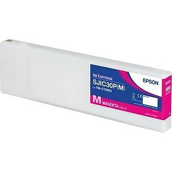 Epson ColorWorks C7500G Kartuþ Magenta - SJIC30P(M) C33S020641