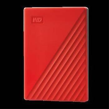 WD WDBPKJ0040BRD-WESN 4TB My Passport USB3.2 Kýrmýz Taþýnabilir Sabit Disk