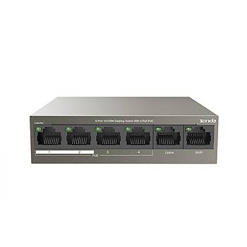 TENDA TEF1106P-4-63W 6-Port 10/100M 4-Port PoE Switch