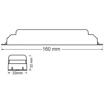 AK-4600S-3EKO LED Lambalar Ýçin Acil Durum Yedekleme Kiti Kesintide 180 Dak. Yanan 3,5-70 Volt Led Lamba