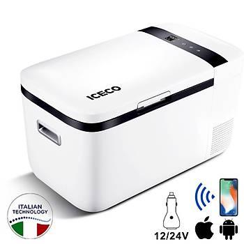 ICECO YCD20 12/24Volt 20 Litre Kompresörlü Oto Buzdolabý