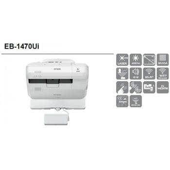 EPSON EB-1470Ui / V11H876520 Kısa Mesafe Lazer Full HD interaktif Projeksiyon