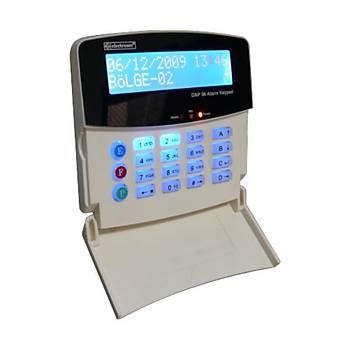 Electrosec DAP-06KPL Lcd Ekranlý Alarm Keypad