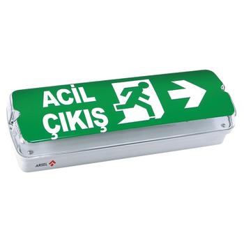 Betalite AEB-03010-L Acil Çýkýþ Yönlendirme Armatürü Þebekeden Yanan 20xF LED