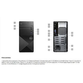 DELL N204VD3888EMEA01_U Vostro 3888, Core i3-10100, 4GB, 1TB, Intel UHD 630, Ubuntu