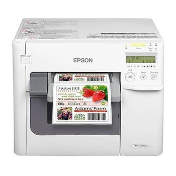 Epson Colorworks TM-C3500 Renkli Barkod Etiket Yazýcý