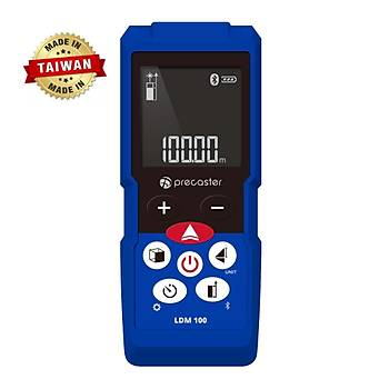 Precaster LDM100 100m Çok Fonksiyonlu Profesyonel Bluetooth Lazermetre
